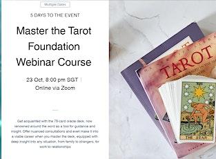 Master the Tarot Foundation Online Course entradas