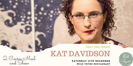 Kat Davidson at Wild Thyme Restaurant tickets