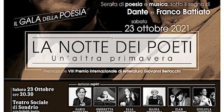 LA NOTTE DEI POETI, Il Gala della poesia biglietti
