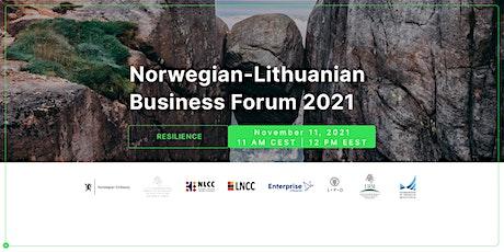 Norwegian - Lithuanian BUSINESS FORUM 2021 tickets