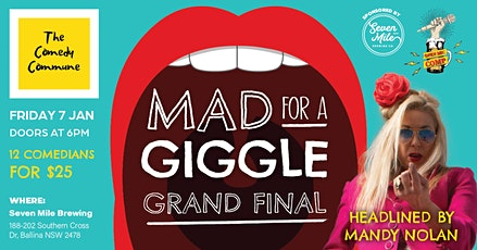 Mad For A Giggle Open Mic Competition Final tickets