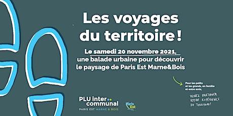 LES VOYAGES DU TERRITOIRE // N°6 : DANS LA BOUCLE DE LA MARNE billets