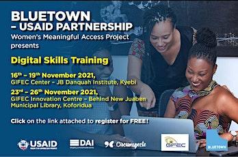 Digital Skills Training tickets