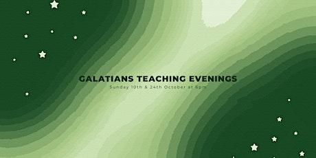 Galatians Teaching Evening tickets