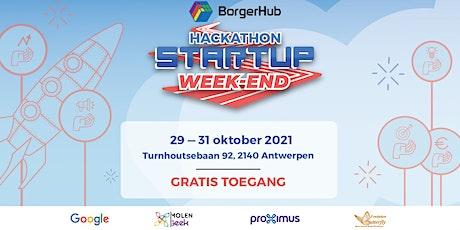 BorgerHub - Hackathon STARTUP Week-End – Oktober 2021 billets