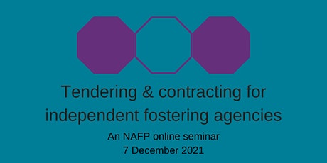 Tendering/contracting  for independent fostering agencies tickets