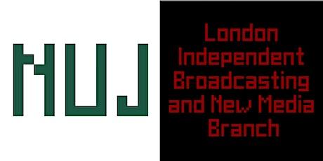 Organising radio - LIBNM branch meeting tickets