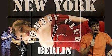 New York Comedy Club - Berlin: Showcase Show tickets