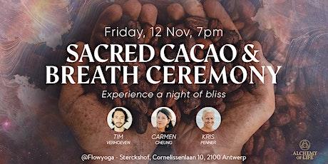 Ceremonial Cacao, Breath & Sound tickets