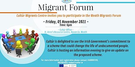 Regularisation Scheme for Undocumented Migrants tickets