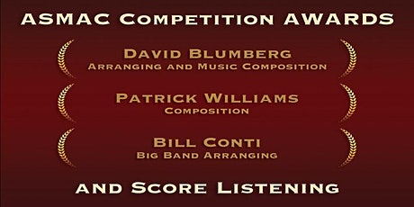 ASMAC Competition Awards and Score Listening tickets