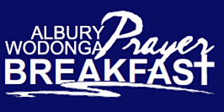 Albury Wodonga Prayer Breakfast 2021 tickets