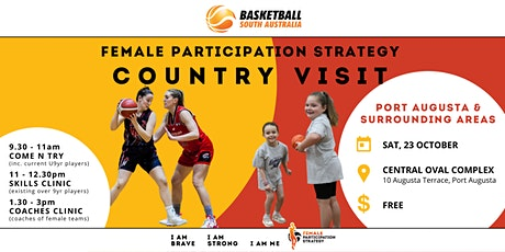 Basketball SA Female Participation Strategy | Port Augusta Country Visit tickets