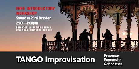 Tango Improvisation: presence, expression, connection tickets