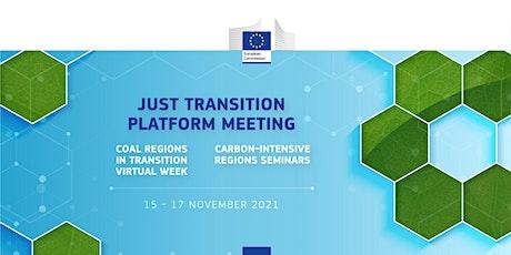 Just Transition Platform Meeting tickets