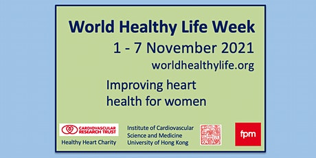 World Healthy Life Week: Improving heart health for women tickets