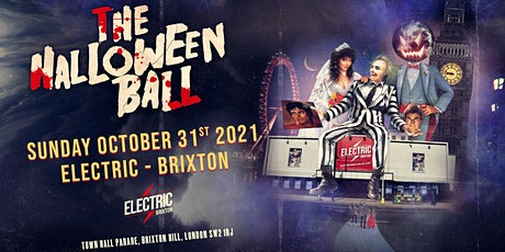 The London Halloween Ball 2021 at Electric Brixton tickets