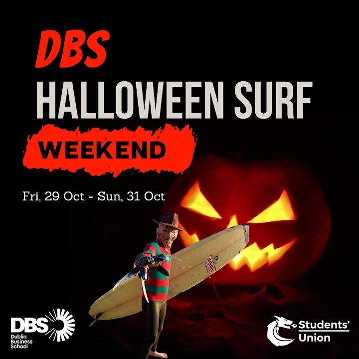 DBS Halloween Surf Weekend image