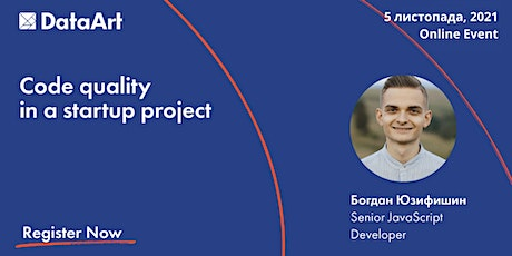 IT talk: Code quality in a startup project tickets