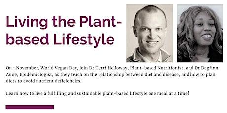 Living the Plant-based Lifestyle ingressos