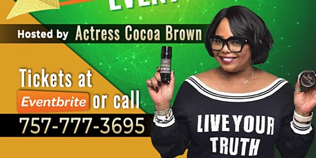Actress Cocoa Brown Virtual Small Business Networking Event. tickets