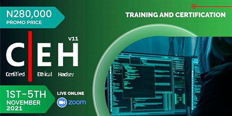 Certified Ethical Hacker (CEH v11) Certification Training and Exam tickets
