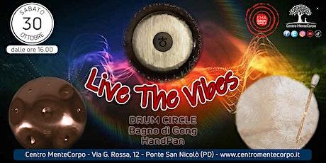Live the Vibes - Vivi l'Esperienza delle Vibrazioni biglietti