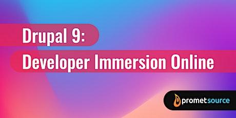 Drupal  9: Developer Immersion Online (5 Days) tickets