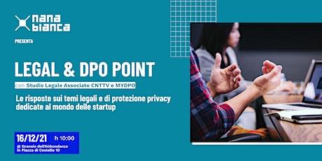 Legal & DPO Point: sportello di consulenza legale e privacy biglietti