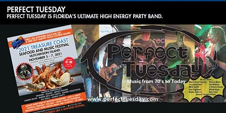 Perfect Tuesday Plays The Treasure Coast Seafood and Music Festival tickets