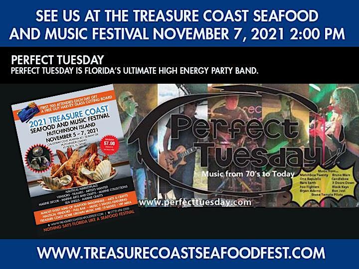 Perfect Tuesday Plays The Treasure Coast Seafood and Music Festival image