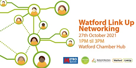 Watford Link Up Networking tickets