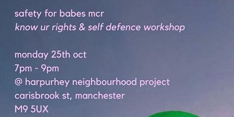 Safety For Babes Manchester tickets