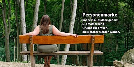 Personal Branding Mastermind Gruppe | visuelles Personal Branding tickets