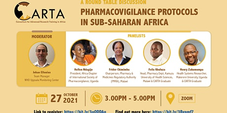 Round Table Discussion- Pharmacovigilance Protocols in Sub-Saharan Africa tickets