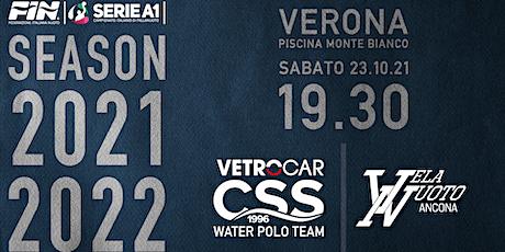 Campionato A1 di Pallanuoto: Vetrocar CSS Verona vs Vela Nuoto Ancona tickets