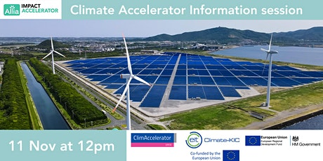 Allia's Climate Accelerator Information Session tickets