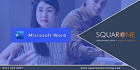 Microsoft Word Intermediate (Level 2) tickets
