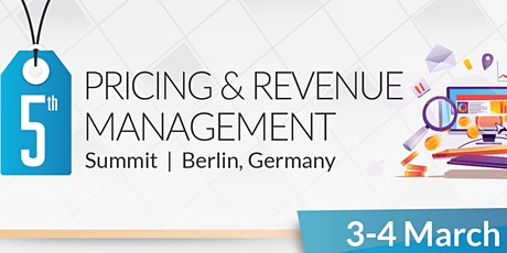 5th Pricing & Revenue Management Summit tickets