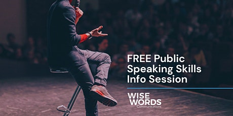 Free Public Speaking Advice Session tickets