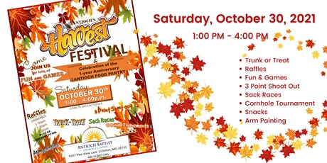 ABCOC Harvest Festival tickets