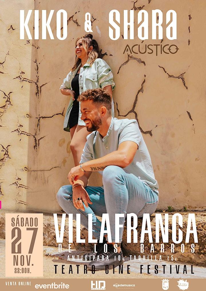 Imagen de CONCIERTO KIKO Y SHARA  en Villafranca de los Barros (Badajoz)