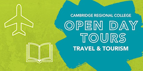 Travel & Tourism Open Day Tours tickets