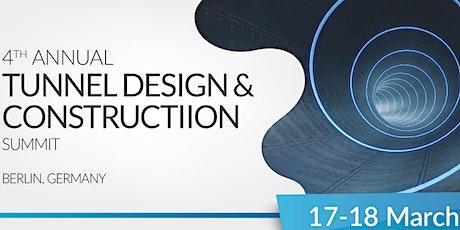 4th Annual Tunnel Design & Construction Summit Tickets