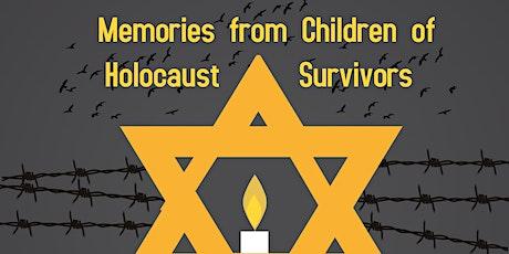 Memories From Children of Holocaust Survivors tickets