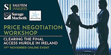 Price Negotiations of Medicines in Ireland Workshop tickets