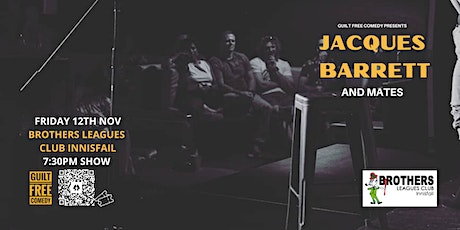 Jacques Barret at Brothers Leagues Club Innisfail tickets