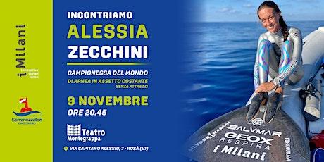 Incontriamo Alessia Zecchini, campionessa di apnea biglietti