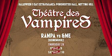 Boneca Halloween: Théâtre des Vampires tickets