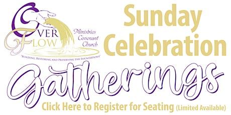 October 24, 2021 OMCC Sunday Morning Celebration tickets